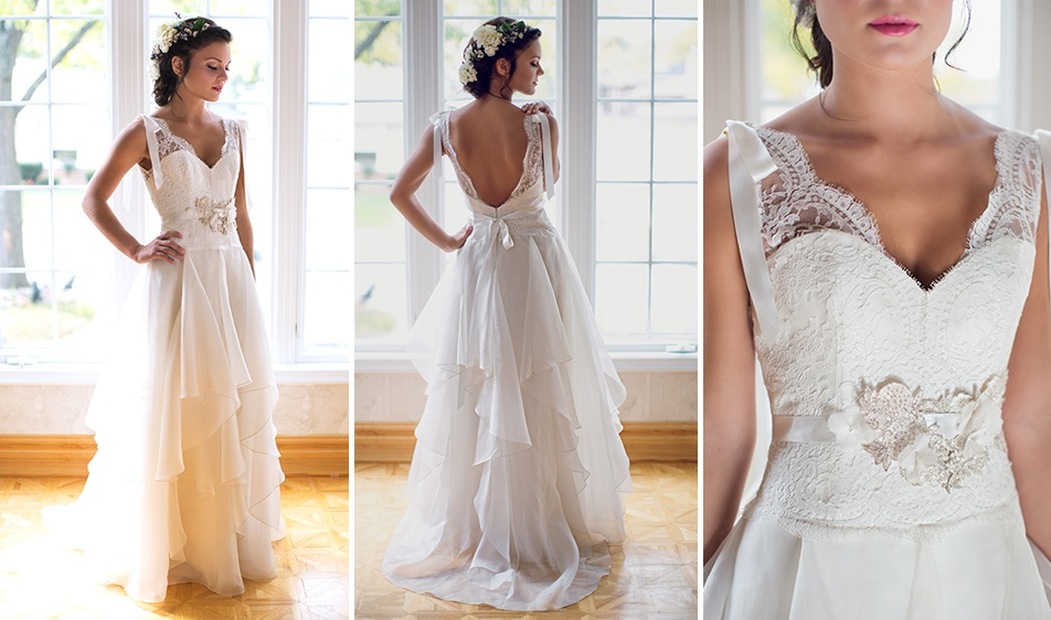 French Lace Wedding Gown: View Over 20 Wedding Dresses Designed By Alice Padrul