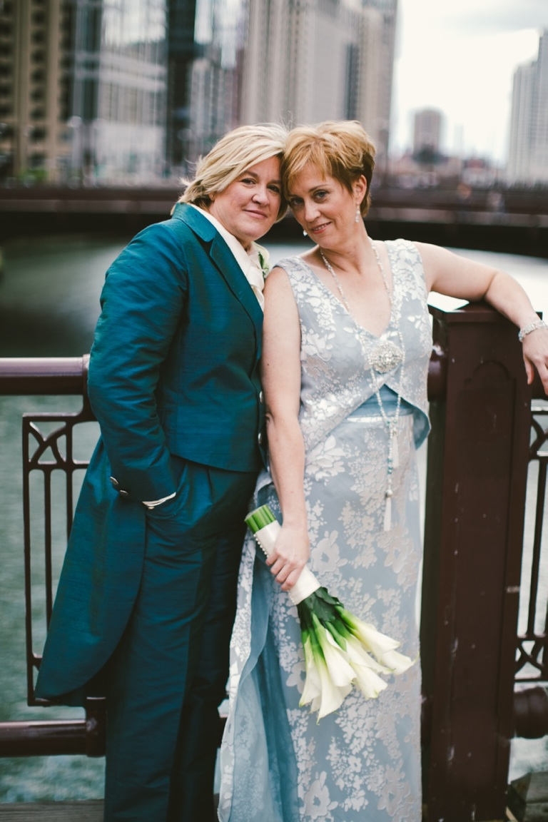 LGBT Friendly Wedding Dress and Suit in Chicago