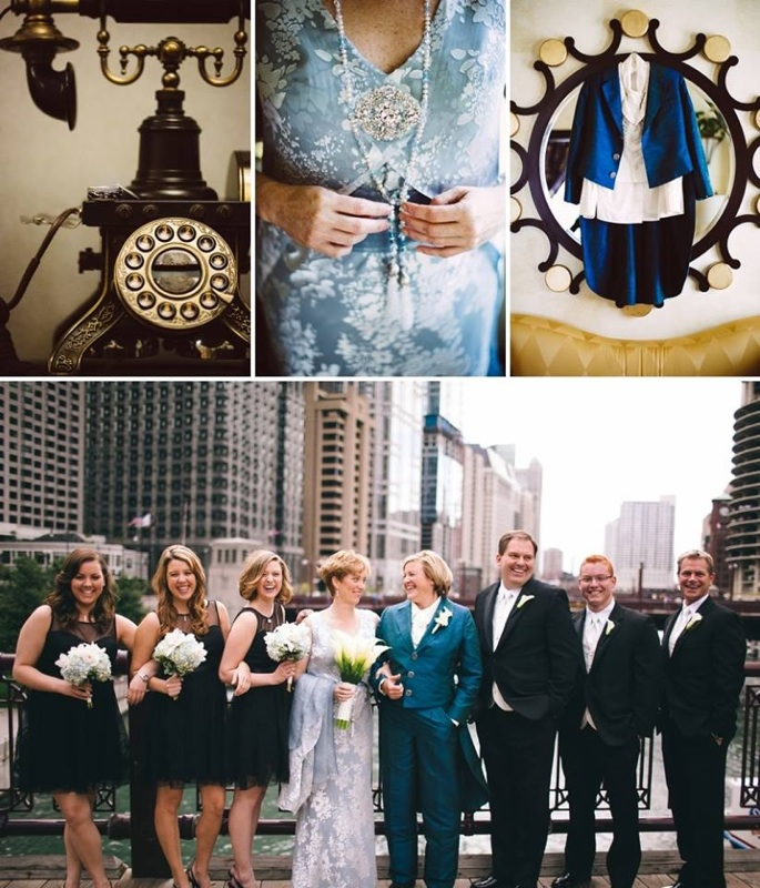 LGBT Wedding Dress, Wedding in Chicago, Wedding Suit